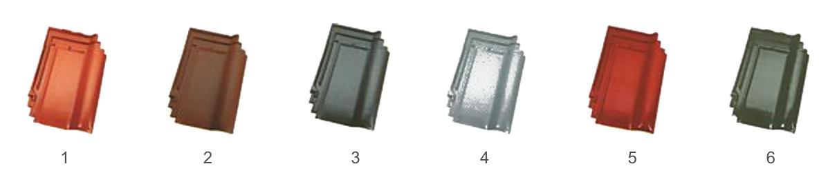 Dachówka Koramic Renesansowa L15